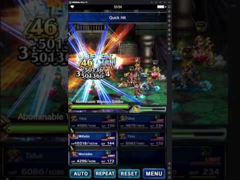 Perfect Chain without macros (android users only) | FFBE AMINO Amino
