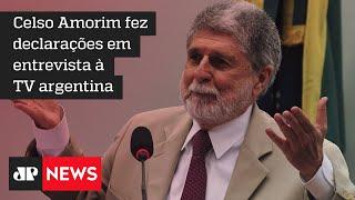 Ex-chanceler do PT diz que Bolsonaro é 'despreparado para o cargo'