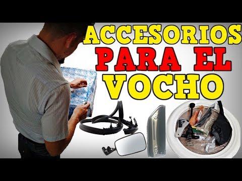 Algunos Accesorio Para El Vocho| De Tocho Morocho Tutoriales.