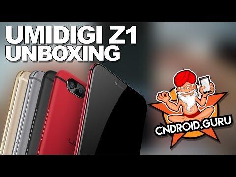 UMIDIGI Z1 Unboxing Video