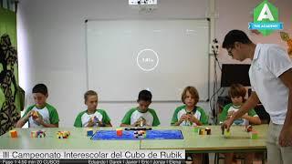 The Academy representa  a Canarias en el III Campeonato Interescolar del Cubo de Rubik