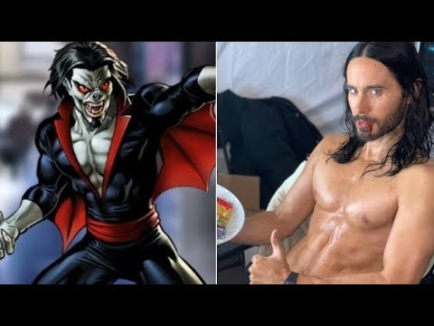 New Look At Shredded Jared Leto As Morbius Revealed