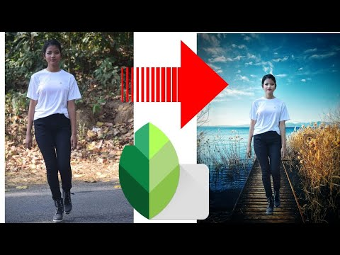 Change your image Backgroud Easily || How to change Background in snapseed