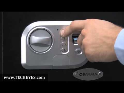Standard Size Digital Keypad and Biometric Safe by Barska AX11646 Video-Review by www.TECHEYES.com