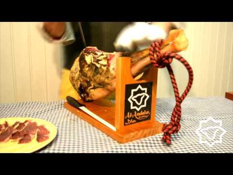 Cómo cortar un Jamón de Ovino Halal