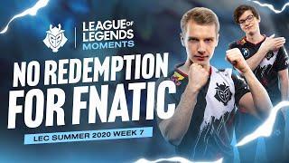 LEC : highlight & Voicecomms de la semaine 7 des G2 Esports