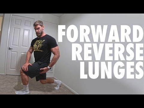 Bodyweight Forward and Backward Lunge
