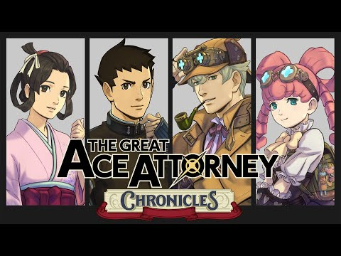 Trailer d'annonce de The Great Ace Attorney Chronicles