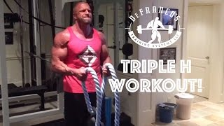 Day in the Life of Joe D. | Triple H Midnight Workout! | VLOG #2