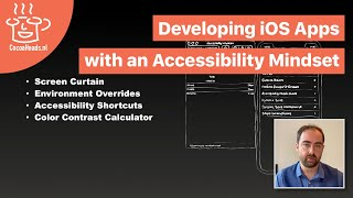 Developing iOS Apps with an Accessibility Mindset, by Dani Devesa (English)
