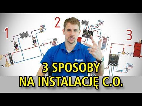 3 SPOSOBY na instalację centralnego ogrzewania - afrisopl - instalacja co