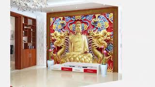 GẠCH 3D GIẢ NGỌC- Gạch 3D ốp tường phòng khách đẹp
