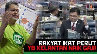 Rakyat Kelantan ikat perut, Exco dapat naik gaji