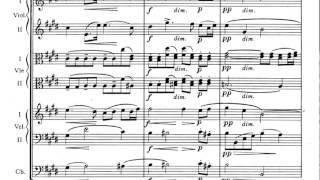 Antonín Dvořák - Serenade for Strings in E Major Op.22 (w/score)