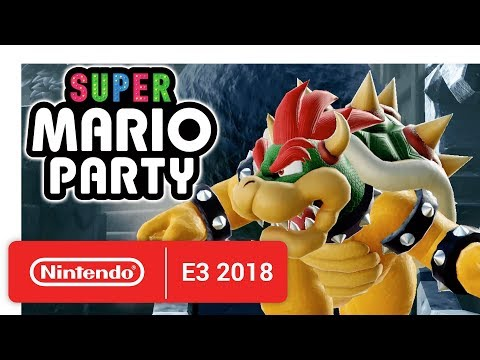 Super Mario Party - Official Game Trailer - Nintendo E3 2018 thumbnail