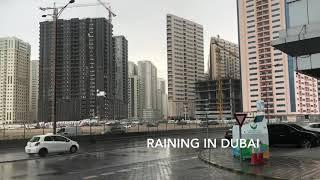 It's raining in Dubai today|| Dubai rain || Rain in Dubai
