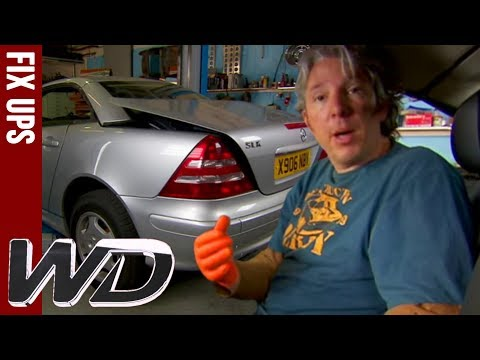 How To Repair A Mercedes SLK Roof | Wheeler Dealers | TOP TIPS