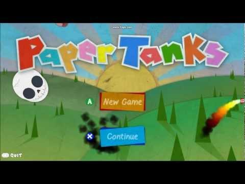 Video of Paper Tanks