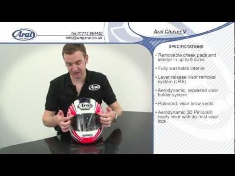 Arai Chaser V Helmet Specification