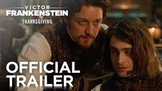 Дэниел Рэдклифф, Victor Frankenstein | Official Trailer [HD] | 20th Century FOX