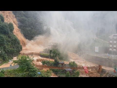 Εικόνες αποκάλυψης στον ανατολικό Πόντο — Έπληξαν την περιοχή ισχυρές βροχοπτώσεις (βίντεο)