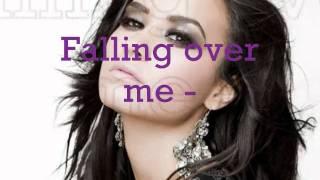 | LYRICS | Falling over me - Demi Lovato ft. Jon McLaughlin (backround vocals)