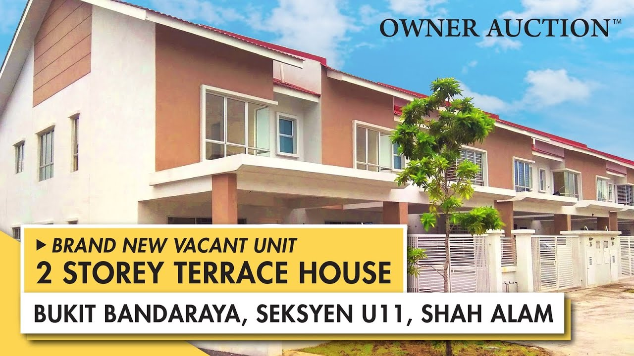 [Owner Auction™] Brand New Unit 2 Storey Terrace House at Bukit Bandaraya, Seksyen U11, Shah Alam