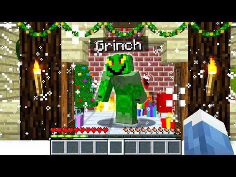 WE FOUND THE GRINCH'S **SECRET** MINECRAFT WORLD! download YouTube