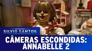 Annabelle Creation Prank - Annabelle 2   Câmeras Escondidas (06/08/17)
