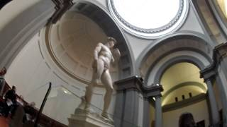 Sneak Peek of the REAL Statue of David (Michelangelo)