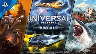 Pinball FX2 VR - Universal Classics Pinball Launch Trailer   PS VR