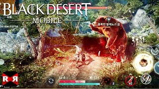 Black Desert Mobile - iPhone X Ultra Graphics Gameplay
