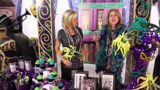 Mardi Gras Party  Decorations -  Masks - Beads - Shindigz