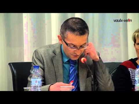 Conseil Municipal de Vaulx-en-Velin du 12 février 2015