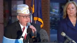 Veterans Affairs officials. news conference on treatment for veterans. Mar 3. 2017.