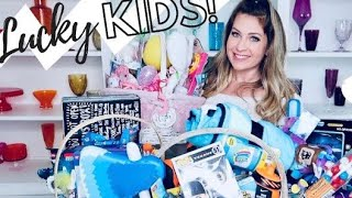 WHATS IN MY KIDS EASTER BASKETS ✝️🐰🐣 DIY HUGE BASKETS FOR BOYS & GIRLS & TODDLERS
