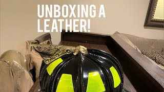 Unboxing a Carins N5A Leather Fire Helmet!