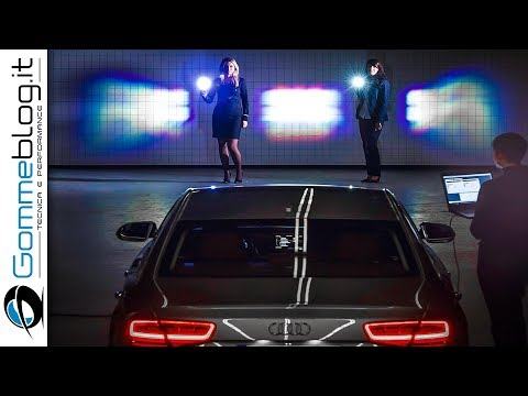 Audi Matrix LED and Laser LED Lights - DEVELOPMENT DOCUMENTARY