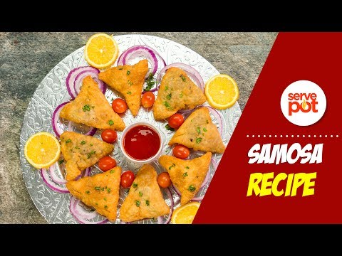 How To Fry Samosa
