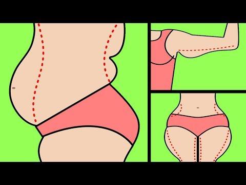 Wie dem Mädchen dass bei ihr das überflüssige Gewicht anzudeuten