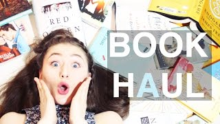 HUGE BOOK HAUL | I'm a hoarder - Video Youtube