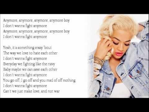 Love War Rita Ora