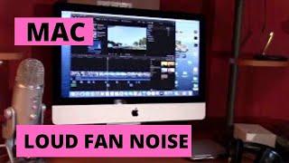 How to Fix Mac DeskTop Loud Fan Noise Keeps Running. DIY