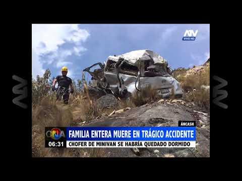 Áncash: Miembros de una familia mueren en un trágico accidente de tránsito