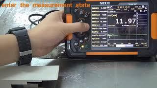 Συσκευή Ελέγχου με Υπερήχους SMARTOR SIUI- Λειτουργία TG CoatThk
