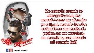 Vico C ft De La Ghetto - Me Acuerdo Remix (LETRA) Edit by DJ HÉCTOR EL VEGA