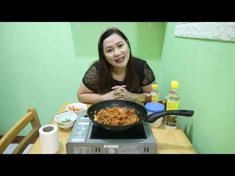 Spicy Pork Bulgogi/ easy cooking recipe
