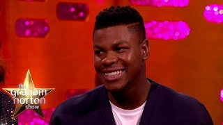 John Boyega Shops At Night To Avoid Being Spotted | The Graham Norton Show