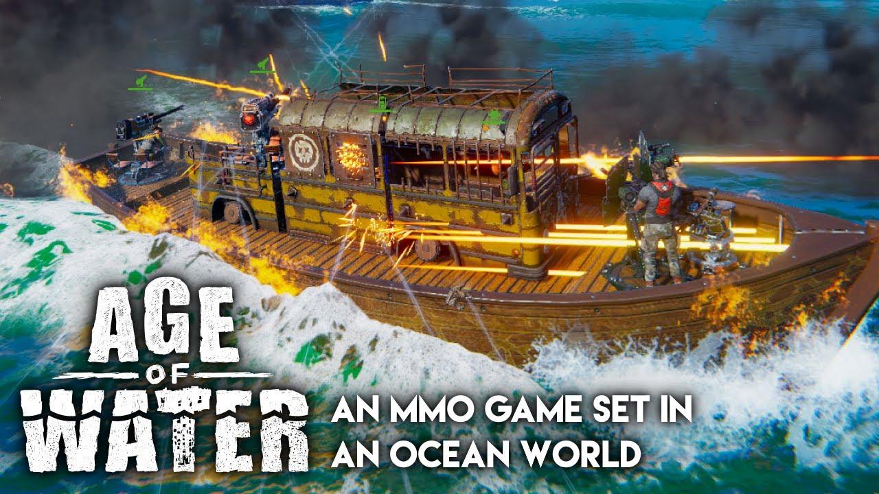 Age of Water - Esplorate e sopravvivete in questo nuovo MMO