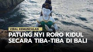 Viral! Kemunculan Patung Nyi Roro Kidul di Pantai Waterblow Bali yang Menggegerkan Warganet
